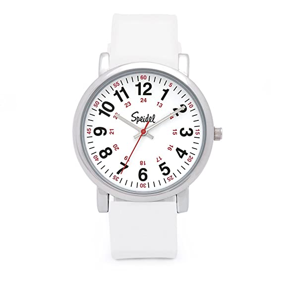 Second Hand Watches >> Speidel Original Scrub Watch Medical Scrub Colors Easy Read Dial Second Hand Water Resistant
