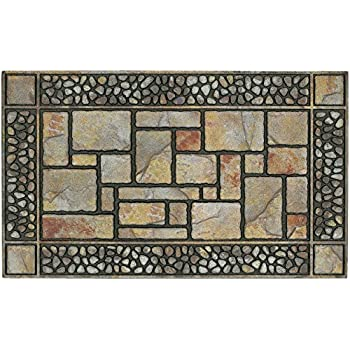 Mohawk Home 4259 12914 195047 Patio Stones Door Mat, 17.5X311