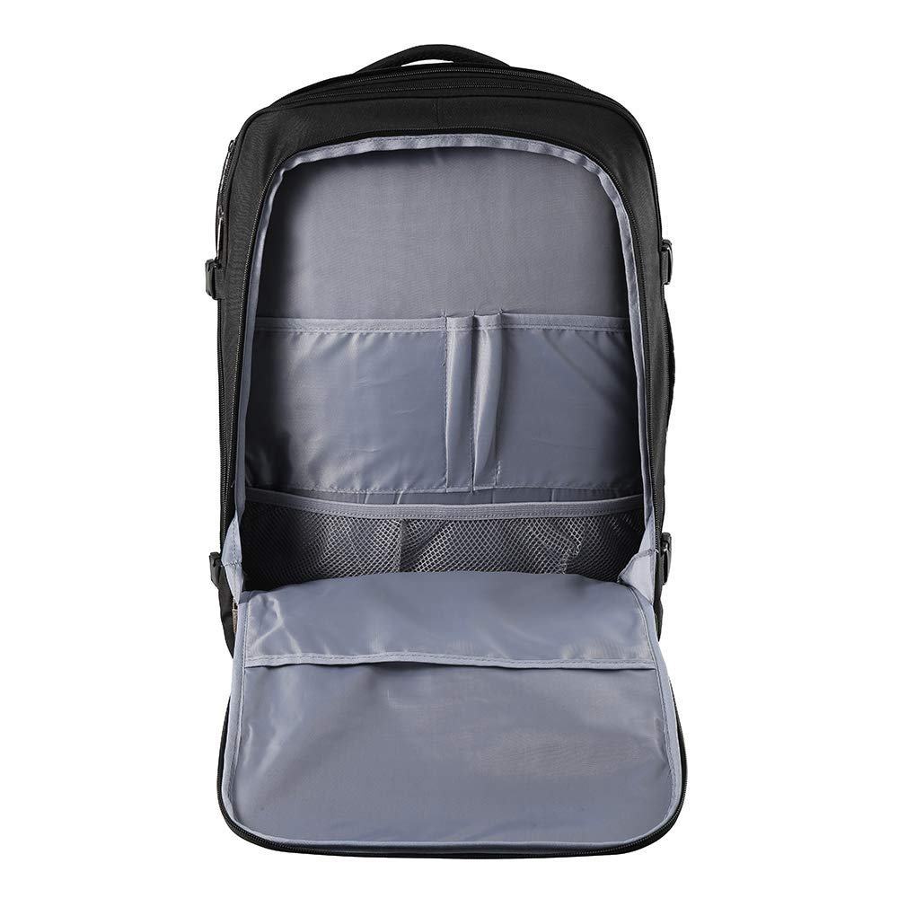 ab195b67200e CX Luggage Expandable Travel Backpack - 22x14x9 Expanding to 22x14x10 -  Laptop Sleeve Within - Lightweight Travel Backpack For International Travel  ...