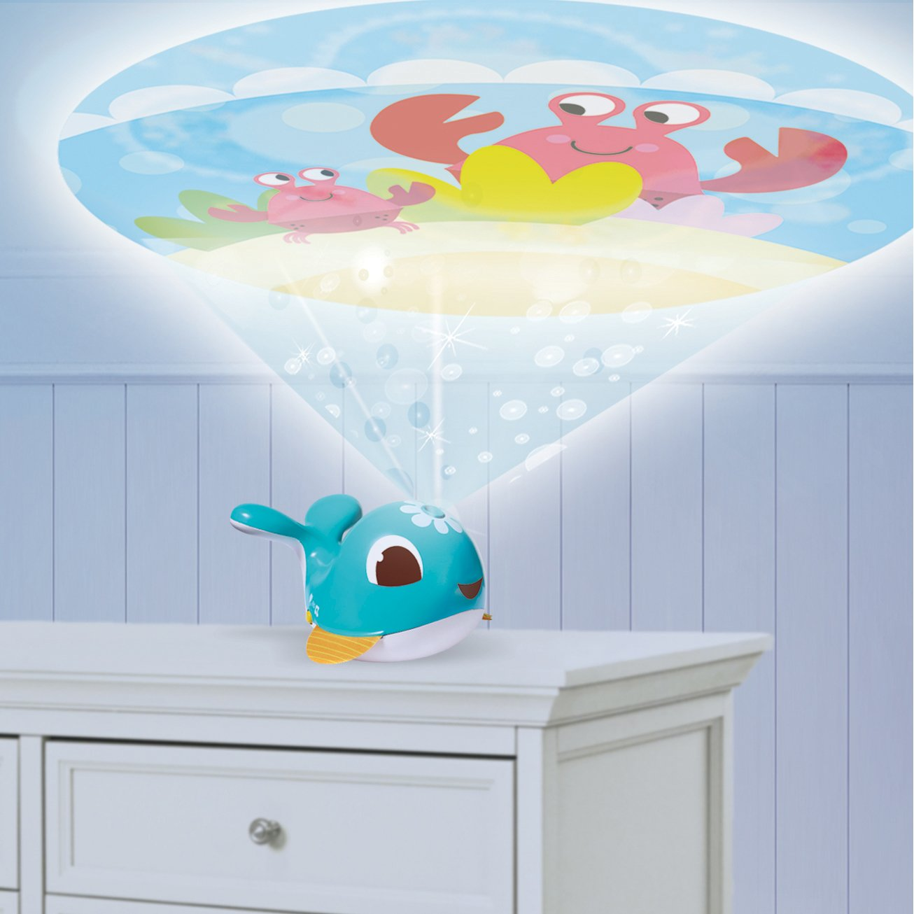 Cody TO016-0700 Tiny Love Take-Along Projector Soother
