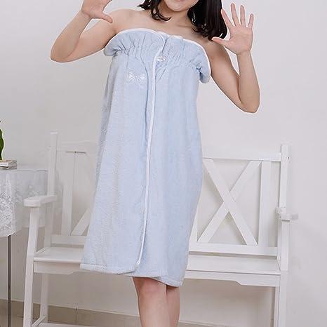 Puede usar toallas de baño Falda de baño Algodón puede usar una toalla de cuello grande ...