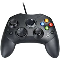 Assecure Compatible Original Black Xbox Slim S Type Wired Controller Gamepad Old Model