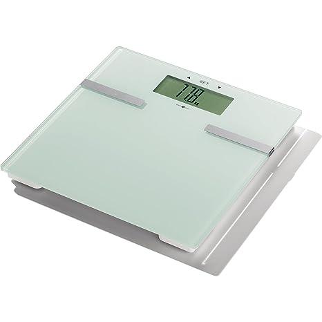 Idea Mundo Báscula de diagnóstico de cristal 1 pieza extragroßes pantalla, hasta 180 kg,