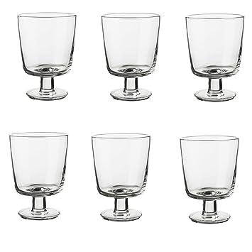 Ikea Weingläser ikea 365 weingläser aus klarglas 30cl 6 stück amazon de küche