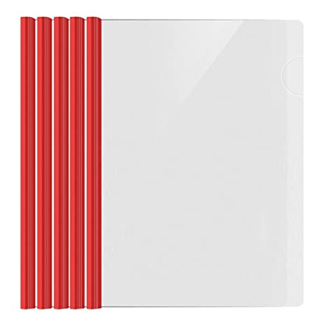 shxstore resume portfolio folder clear presentation folders with red report covers sliding bar for a4