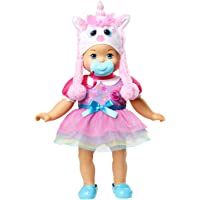 Little Mommy Muñeca Tierna como Yo Disfraz de Unicornio Taini Fansense de Distroller. Bebita, Edades de 2+ Años. Doll