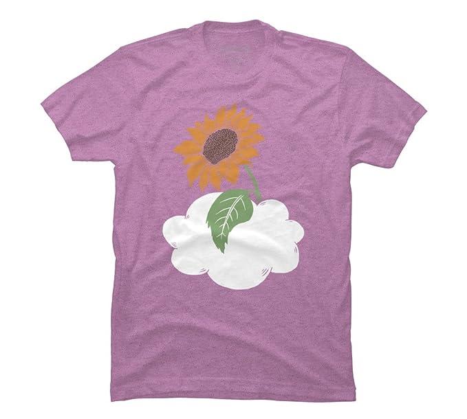 555909da1 SUNFLOWER Men's Small Neon Purple Heather Graphic T Shirt - Design By Humans