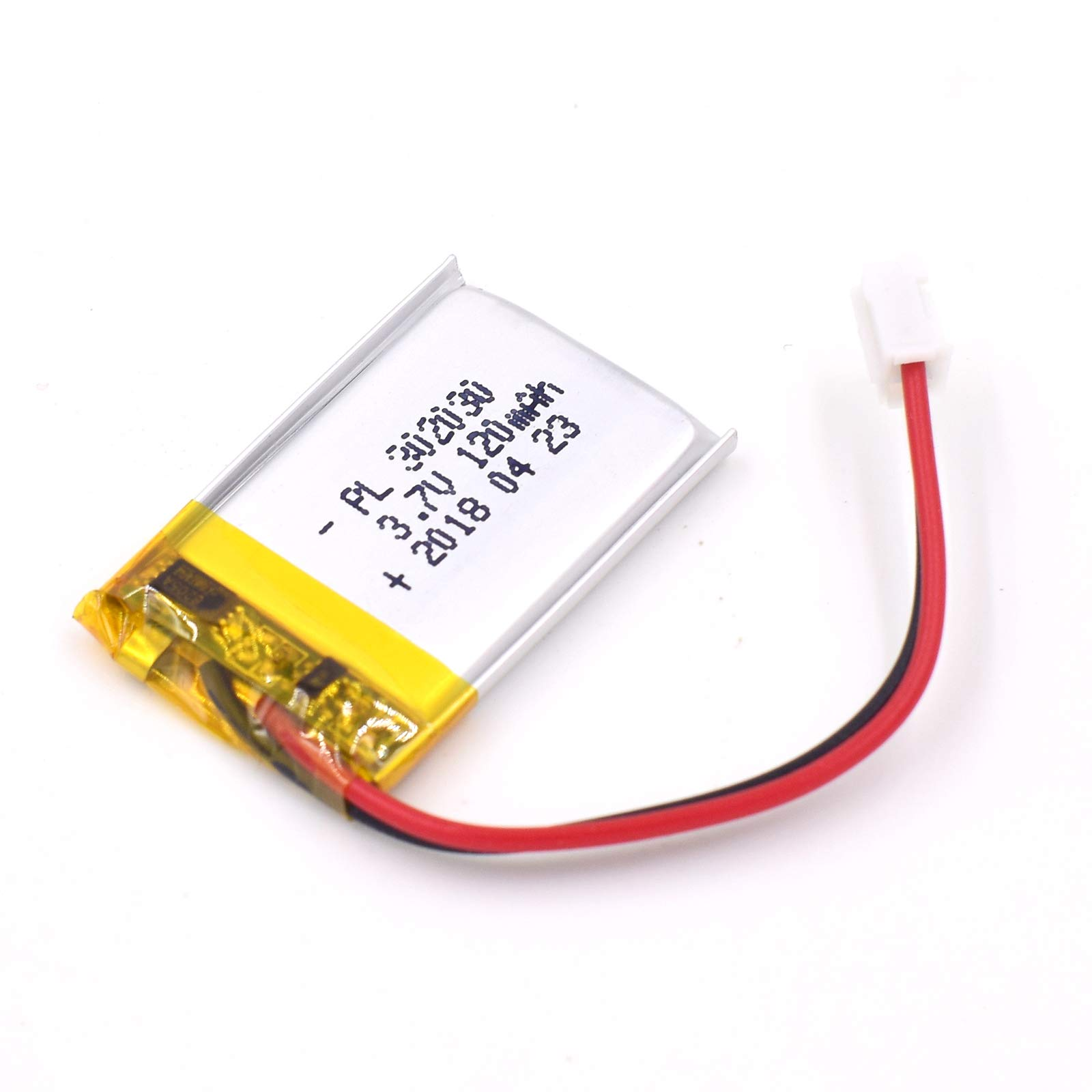 Bateria Lipo 3.7V 120mAh 302030 Recargable JST Conector