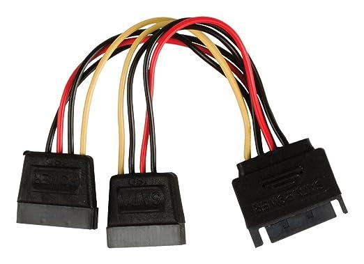 4 opinioni per Valueline VLCP73190V015 Cavo Sdoppiatore di Alimentazione SATA 15 Pin Maschio-