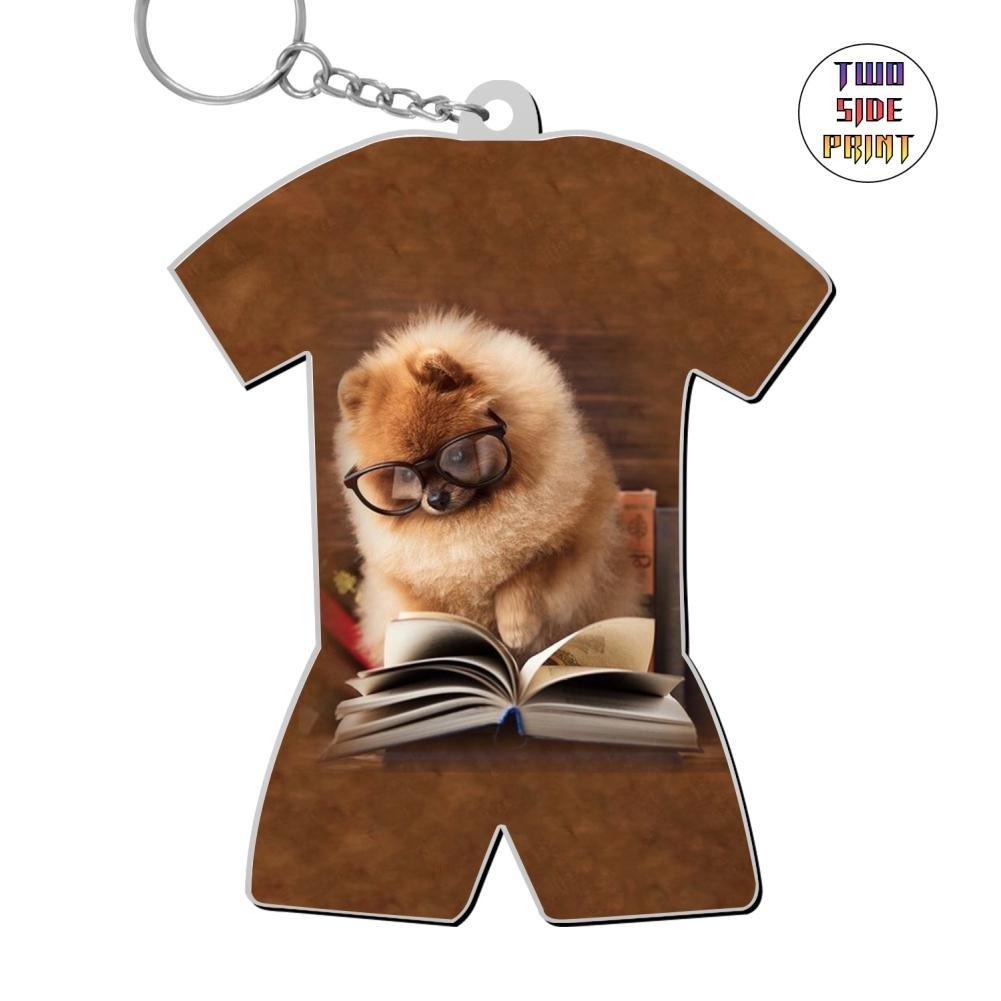 ringkyo Printedスタディ犬World Cupパターンキーチェーン B07DG4HRHH