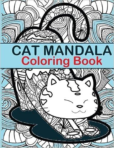 Cat Mandala Coloring Book Cat Mandala Coloring Book Fun For All - Coloring-book-fun