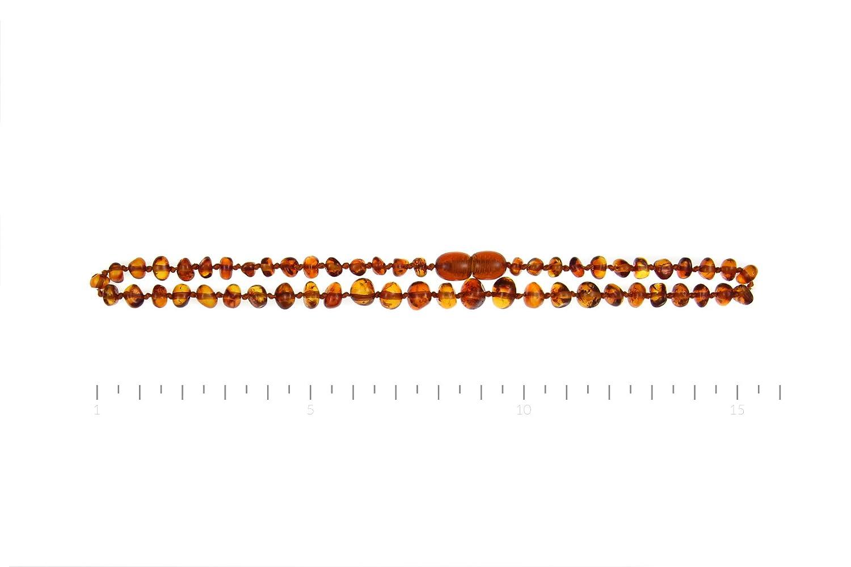 Bescheinigt 100/% nat/ürlich Baltische Bernsteinkette//Handarbeit// L/änge 33cm 34cm 35cm