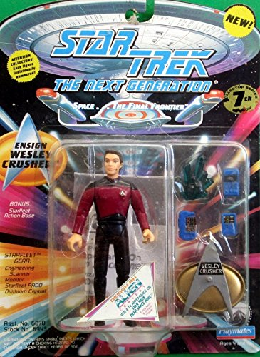Star Trek the Next Generation Ensign Wesley Crusher Action Figure - Wil Wheaton