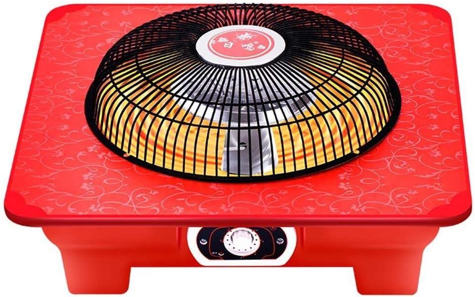 WANG XIN 900W Calentador Pequeño brasero eléctrico Ahorro de energía Calefacción rápida Hogar Calefacción eléctrica eléctrica Ventilador Calefacción eléctrica