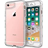 Anuck Case for iPhone 6S Case, for iPhone 6 Case (4.7 inch), Crystal Clear 3 in 1 Heavy Duty Defender Case Shockproof…