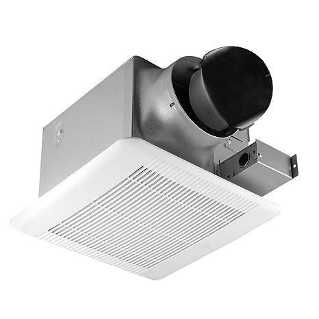 hampton bay 110 cfm ceiling exhaust bath fan ceiling fan rh amazon com broan 110 cfm bathroom fan best 110 cfm bathroom fan