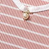 Kidswear Toddler Baby Girls' Stripe Knit Tee with