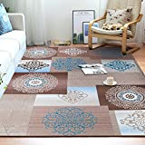 Junovo Contemporary Geometry Collection Area Rug for Living Room Bedroom Dining Room,5′ x 8′,Traditional Review