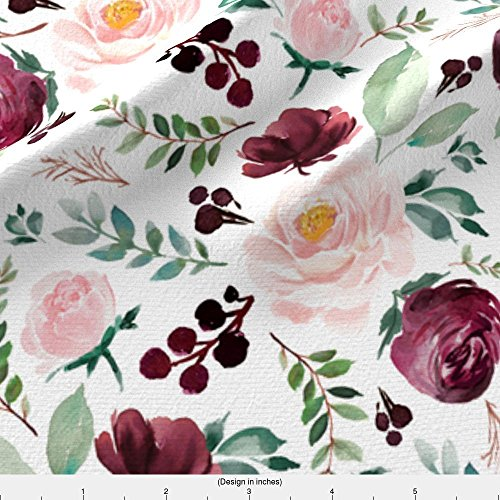 Spoonflower Florals Fabric 8