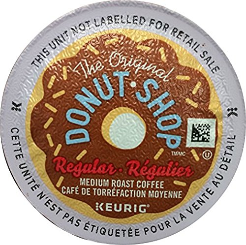The Original Donut Shop, Single-Serve K-Cup Pods, Medium Roast Coffee, 100 Count by The Original Donut Shop