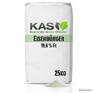 Geliebte Eisendünger Eisensulfat 25 kg als Rasendünger für einen besonders &BE_89