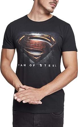 MERCHCODE Mos Superman Camiseta, Hombre: Amazon.es: Ropa y accesorios