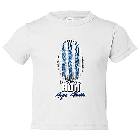 Camiseta niño lo tengo en mi ADN Alavés fútbol - Blanco, 3-4 años