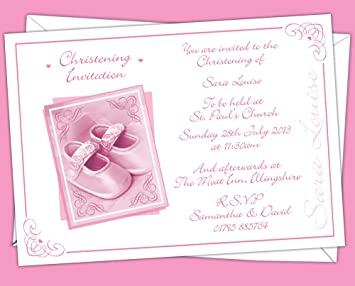 personalised christening baptism invitations design code cg 002