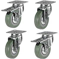 Pack de ruedas de goma (50 mm, 4
