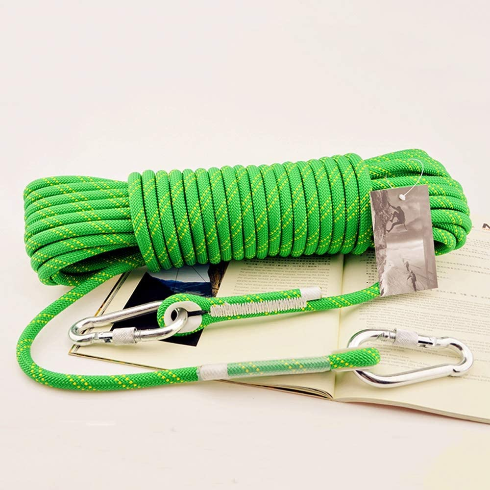 8mm 11mm Outdoor Equipment Climbing Climbing Climbing Protection Rope Descending Auxiliary Rope Binding Rope Rope Changde Jun Feng Shop Safety Rope Color : 10mm, Size : 30m 10mm