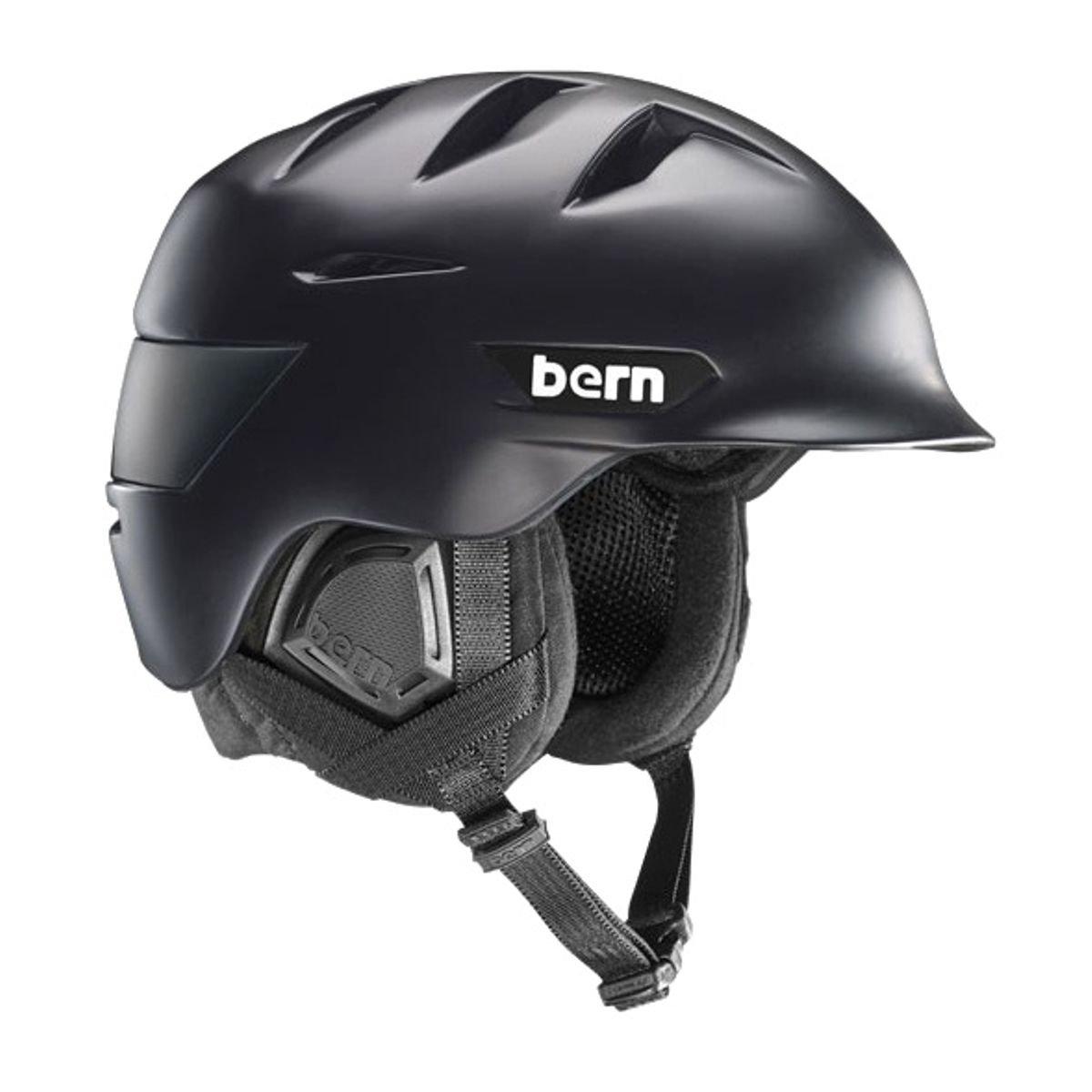 バーン(BERN) ROLLINS メンズ ヘルメット Matte 黒 SM08ZMBLK L/XL