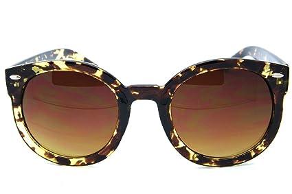 Amazon.com: Gafas de sol redondas ovaladas para mujer, color ...