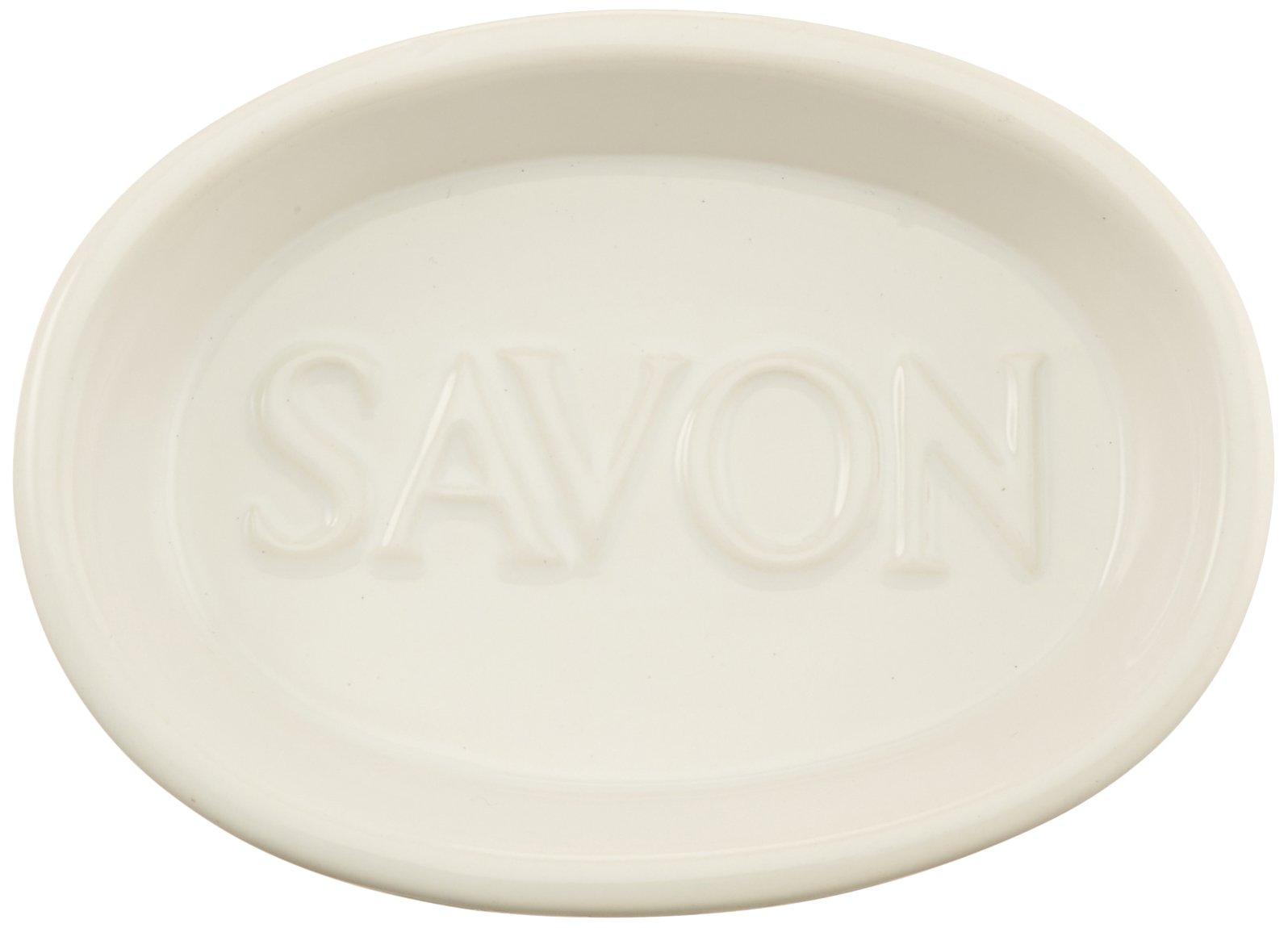 Abbott Collection White Oval Savon Dish by Abbott Collection (Image #2)