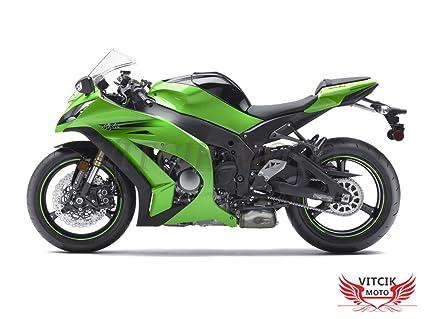 VITCIK Calcomanías para Motos, Adhesivo para Moto ZX-10R ...