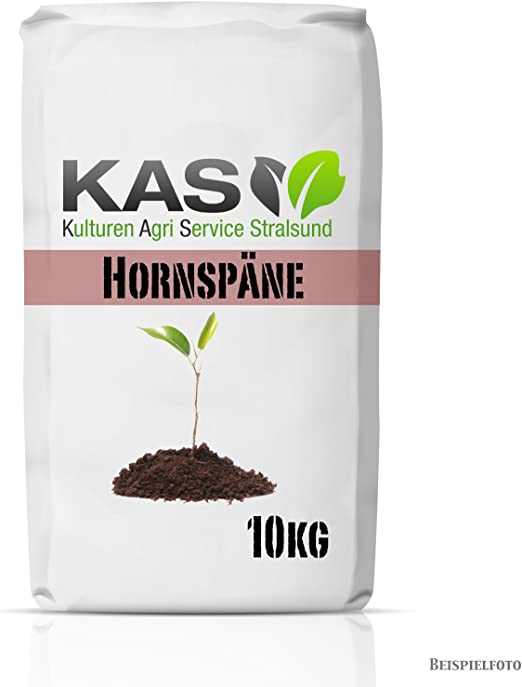 KAS – Abono fertilizante natural para el jardín con efecto duradero de virutas de cuerno.: Amazon.es: Jardín