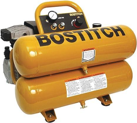 BOSTITCH CWC200ST 3HP 4-Gallon Oiled Twin Hot Dog Compressor - Air  Compressors - Amazon.comAmazon.com