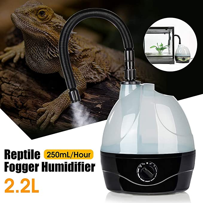 GAOword Reptile HumidifierReptile Fogger, Suitable for