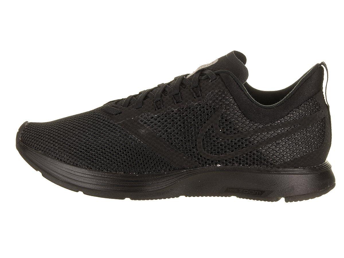 ad57830b139a7 NIKE Women's Zoom Strike Black/Black Running Shoe 7 Women US