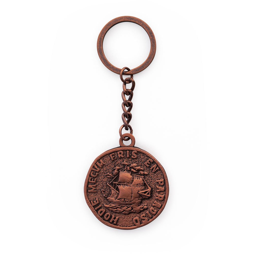 Amazon.com: Uncharted 4 A Thiefs End Pirate Coin Keychain ...