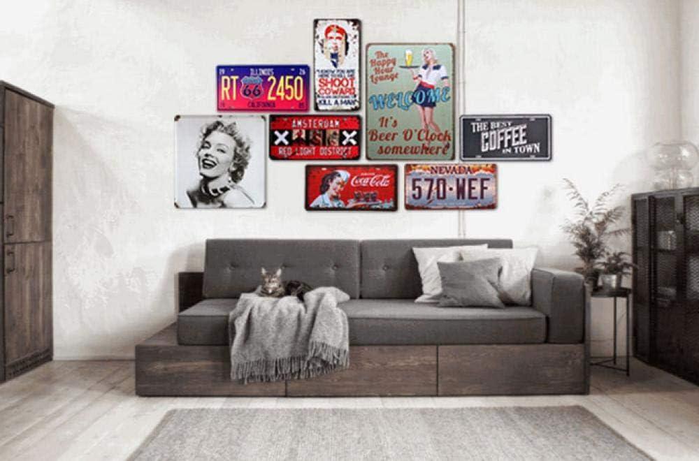 20cm shovv Eisenmalerei Zinnmetall Malerei Blechschilder Plaque Tiki Bar Sommerleben Better Beach Poster Kunst Wandmalerei Bar Shop Home Decor 30