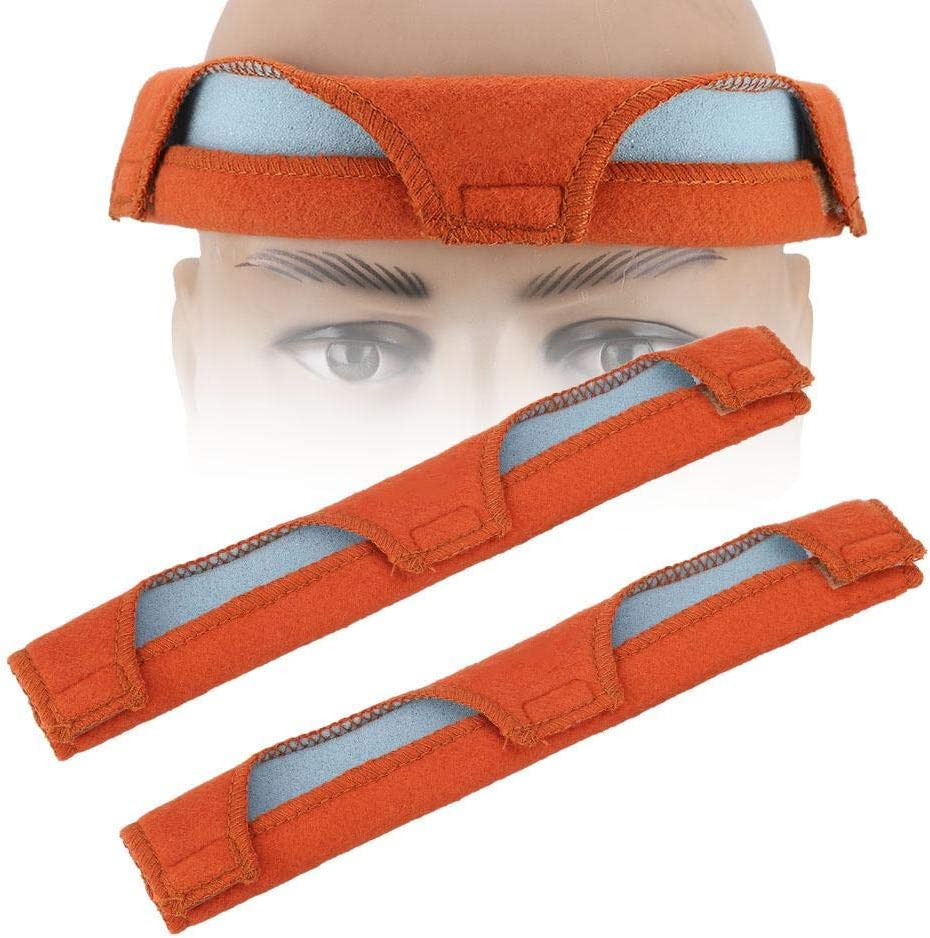Hard Hat Sweatband,2pcs//Set Hard Hat Welding Sweat Band Air Cushion Sweatband Helmet Comforter Pad,Inner Layer Made of Air-Cushioned Foam to Store Excess Sweat,Very Practical