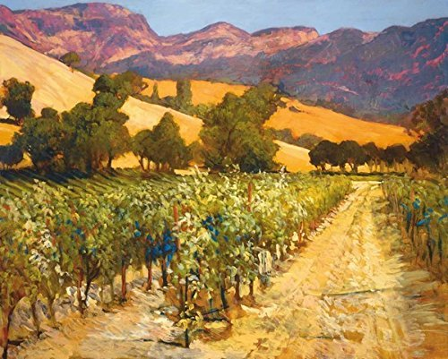 """Wine Country"" By Philip Craig, Fine Art Giclee Print on Gallery Wrap Canvas, Ready to Hang from Tangletown Fine Art"