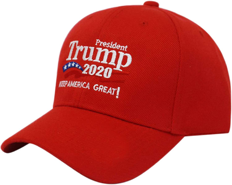 HUAZHUO Creative Fashion Unisex Casual Streewear Donald Trump 2020 US Election Campaign Baseball Cap Hat Online