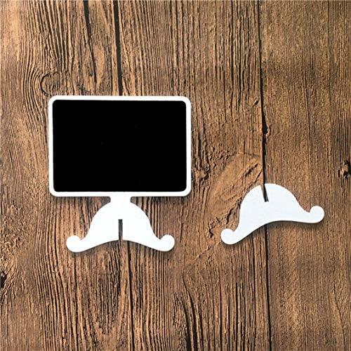 Das tägliche Leben in Wedding Bar Display Blackboard Square White bietet Gesundheits- und Schönheitspflegeprodukte - Weiß