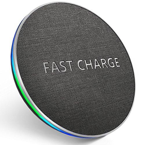 GETIHU Wireless Fast Charger Qi-Certified Phone Charging Pad