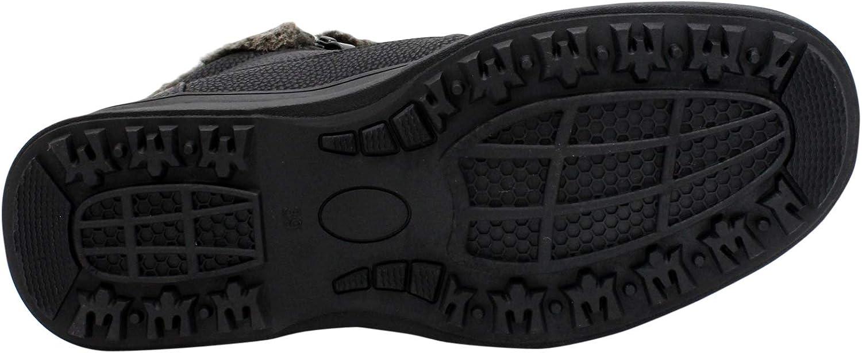 Alberto Fellini Mens Side Zipper Fur Boot,Black,6.5