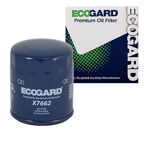 ecogard x7662 Filtro de aceite