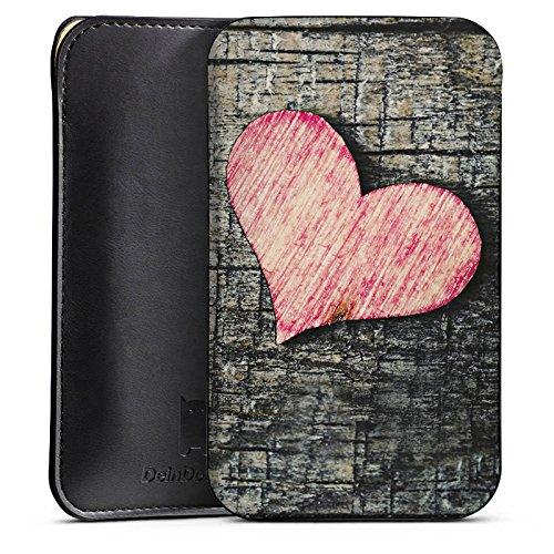 Sharp Aquos Xx2 mini Sleeve Bag Cover - Herzchen Holz - Buy Online