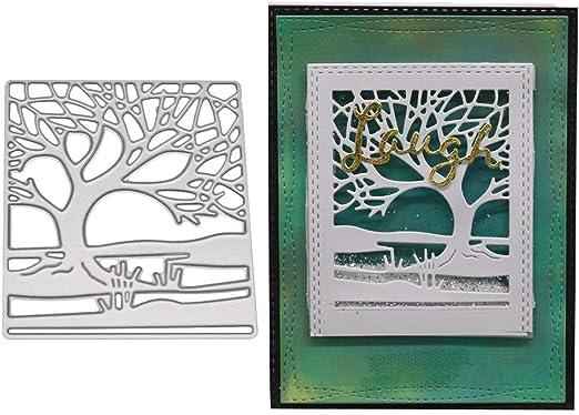 Tree metal cutting dies scrapbook paper album card craft making decoration