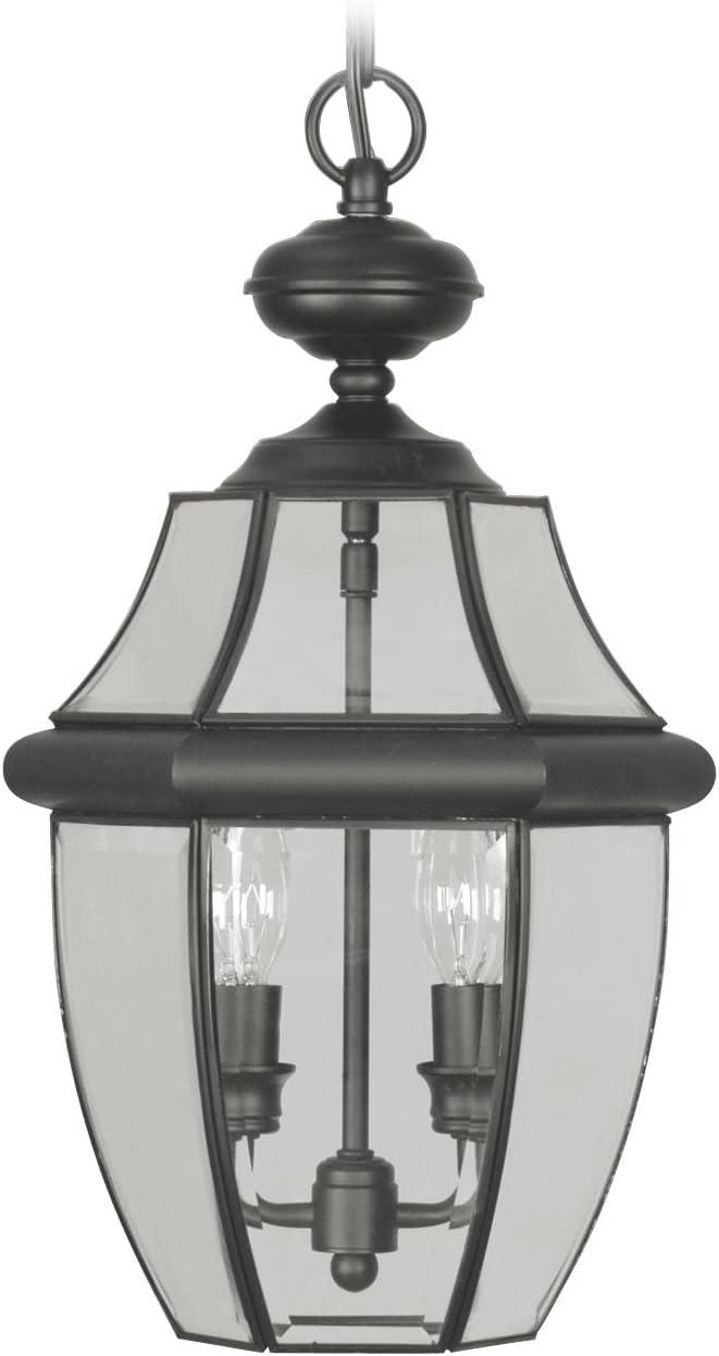Livex Lighting Monterey Outdoor Chain Hang in Black 2255-04